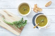 Winter Greens Soup, Winter Soup Round-Up, and Vitamix Giveaway