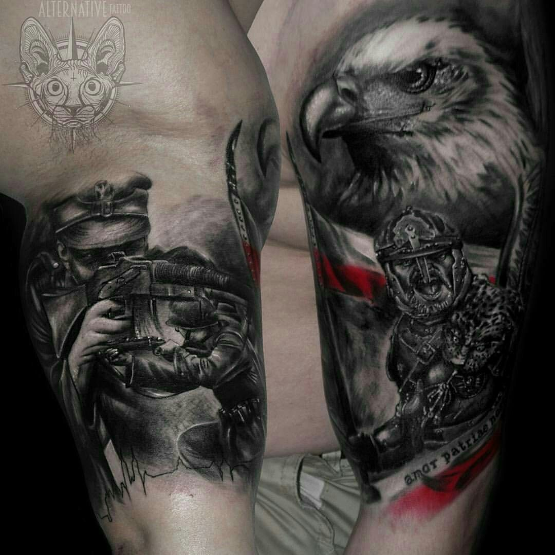 Husaria Tattoos Pinterest Tattoos Eagle Tattoos And Realism