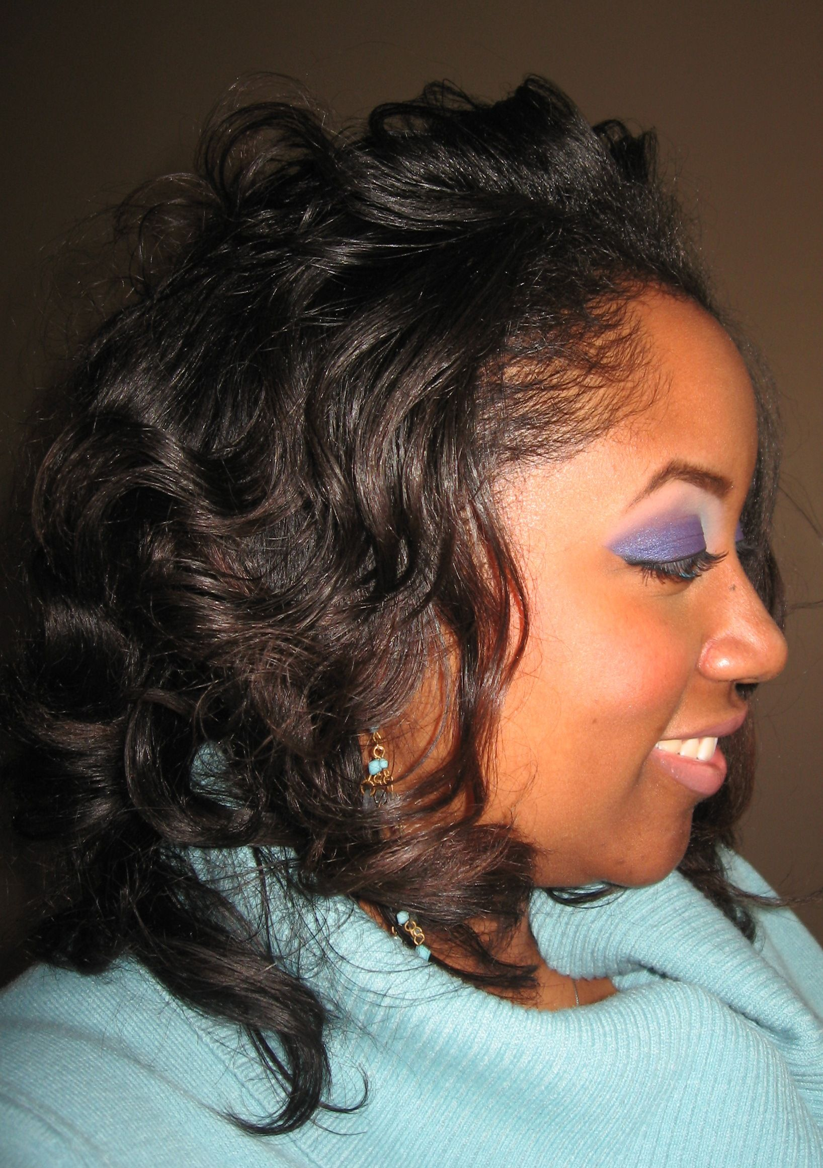 roller hair natural wrap relaxed setting 4c update via