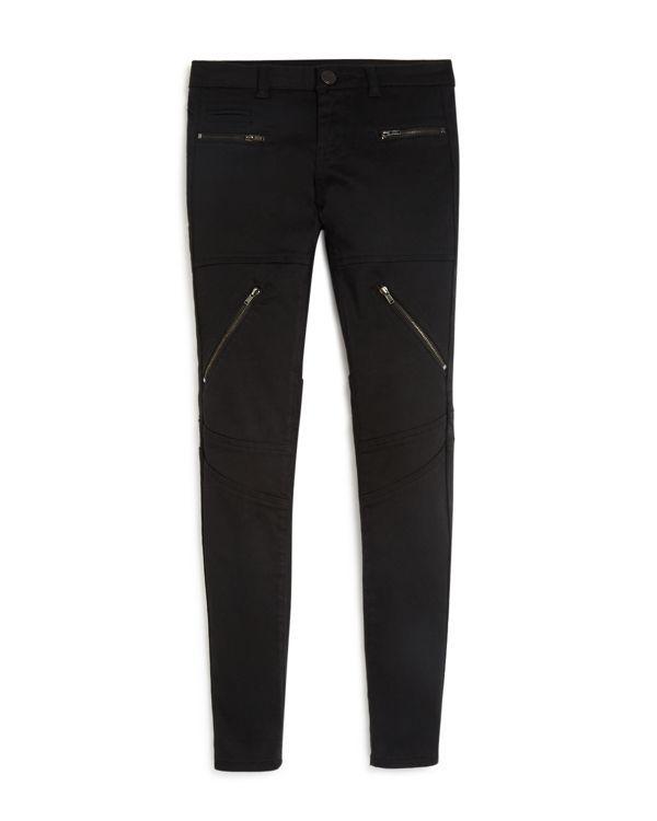 Blanknyc Girls' Zip Pocket Skinny Pants - Sizes 7-14