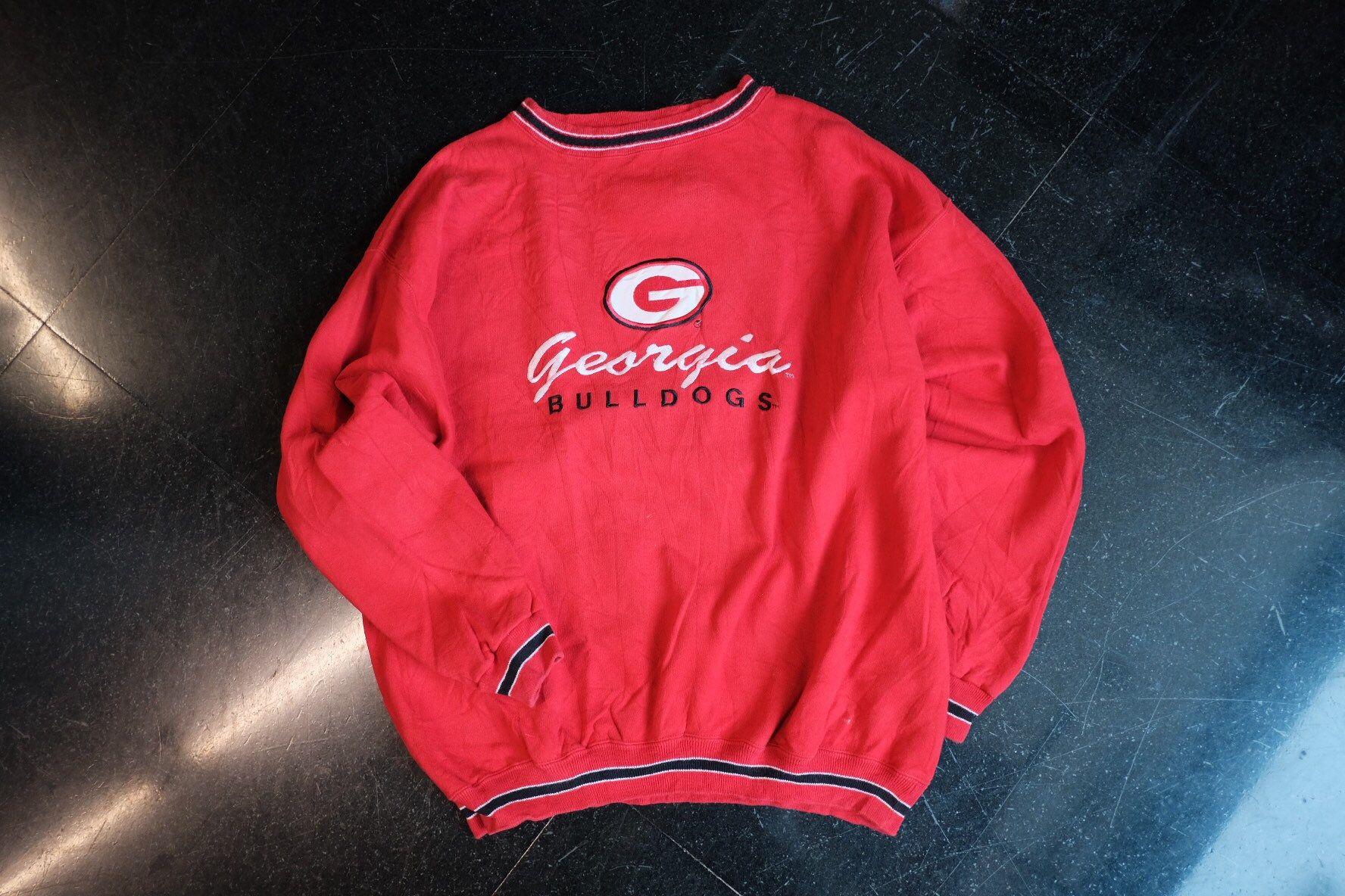 Georgia Bulldogs Sweatshirt Embroiled Sportswear Size Xl Etsy Sweatshirts Bulldog Sweatshirt Georgia Bulldogs [ 1184 x 1776 Pixel ]