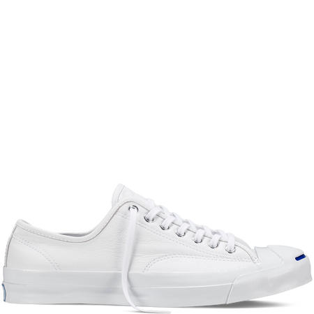 621846f292083d Converse - Jack Purcell Signature Goat Leather - White - Low Top ...