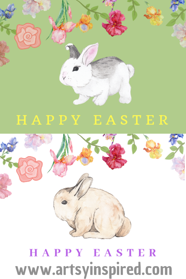 Download Free Printable Happy Easter Cards (With images ...