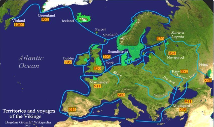 Billedresultat For Ejderen Vikingetiden Voyage Vikinger