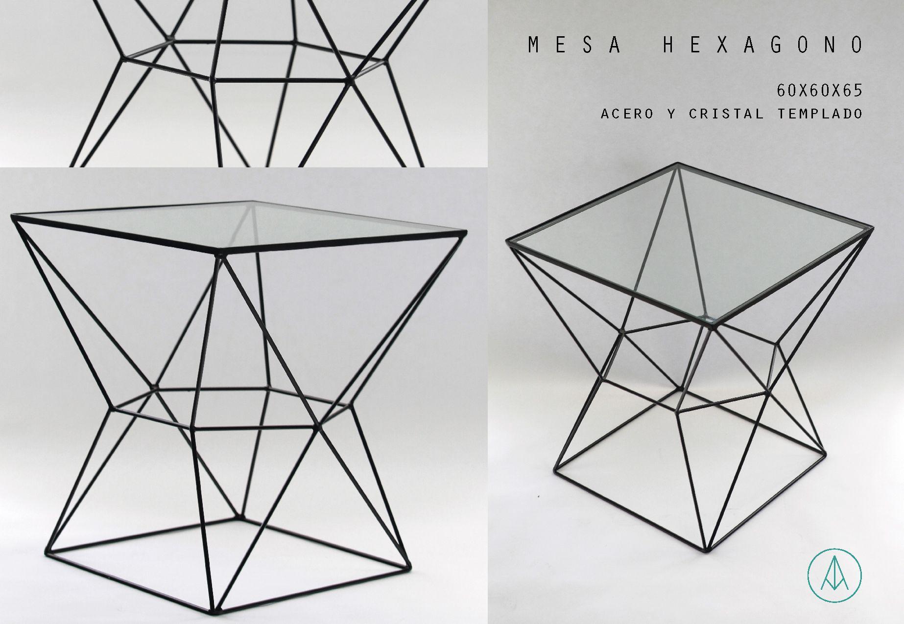 Mesa acero color negro con cristal templado facebook for Mesa cristal templado ikea