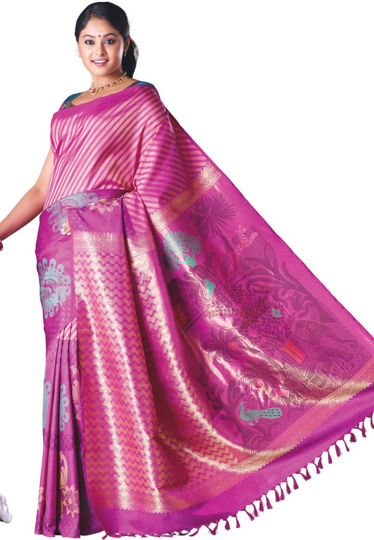 Make your wardrobe amazing by putting the beautiful #kanchipuramsarees for price details visit: http://www.saridhoti.com