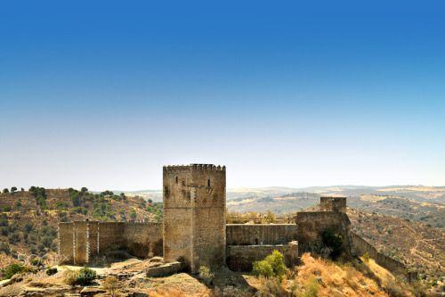 mértola castle by ruiejoao alentejo ancient architecture building castle city europe mértola old