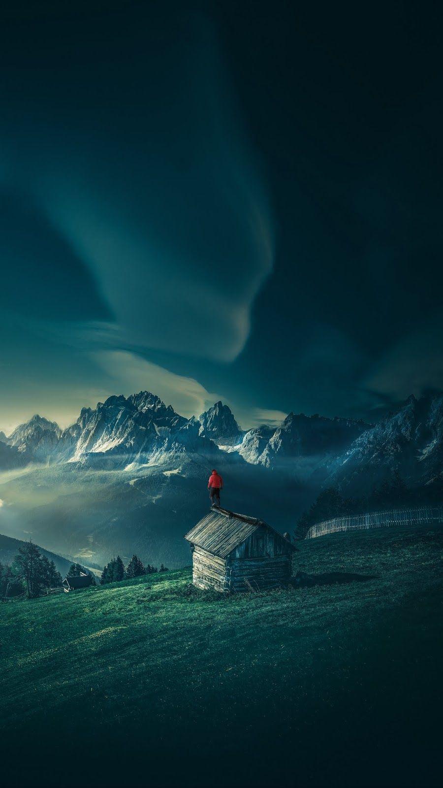 Nature Northern Lights Id 46347 4k Portrait Wallpaper Qhd