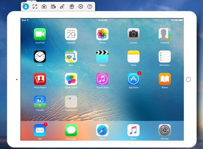 Good Ways to Mirror iPad to Mac Screen mirroring, Ipad