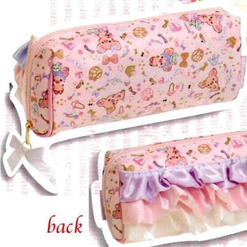 possibly the cutest pencil case/makeup bag ever in the existence of cute pencil cases/makeup bags.