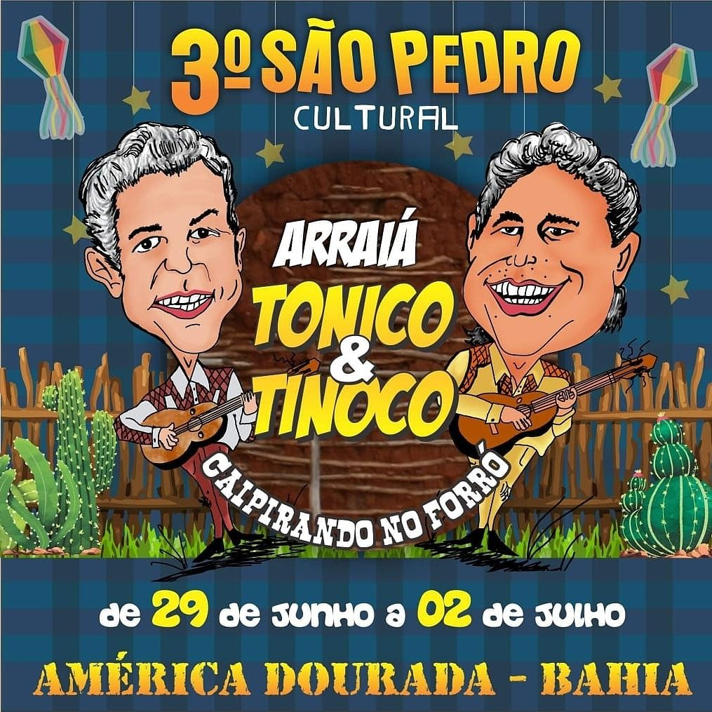 Ta Todo Mundo Convidado Para O Melhor Sao Pedro Da Bahia 3