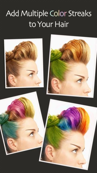 Hair Color Booth Free by Bluebear Technologies Ltd.