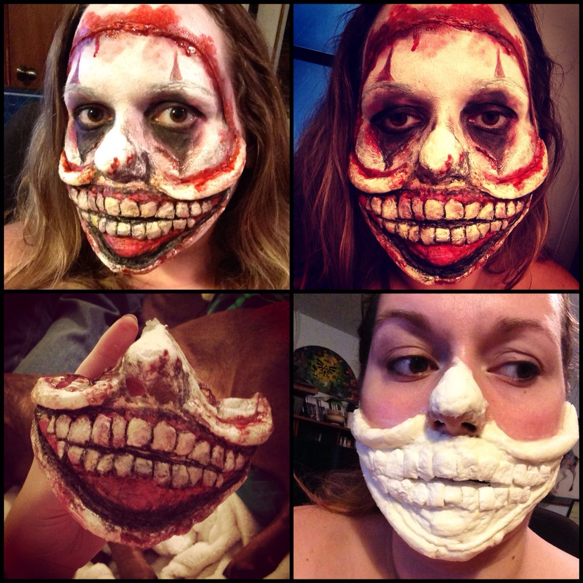 Twisty the clown from American horror story freak show. Made with ...