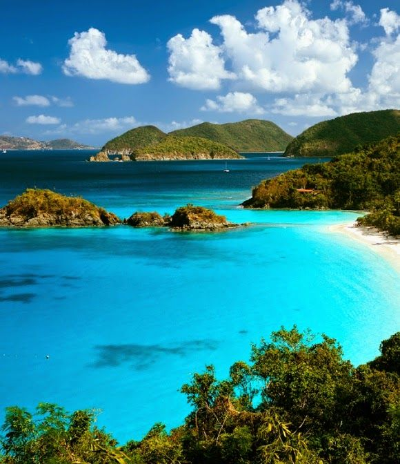 The Virgin Islands | Vacation places, Places to visit ...