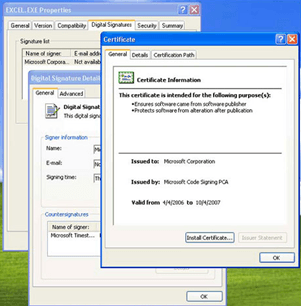 On Continue To Install The Signing Certificate Into Pc At This Point Open Run Certmgr Msc A Or