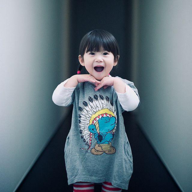 chinese Budding girl young