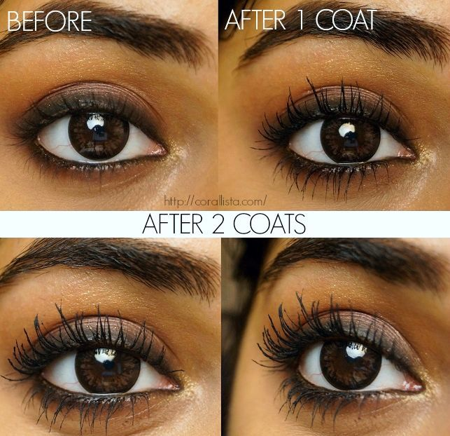 25696e8573c Maybelline The Falsies Volum' Express Waterproof Mascara - Before and After  #HowToApplyMascara