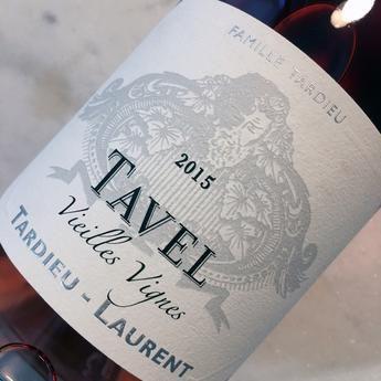 Tardieu-Laurent Tavel Vieilles Vignes Rosé, Rhone, France 2015