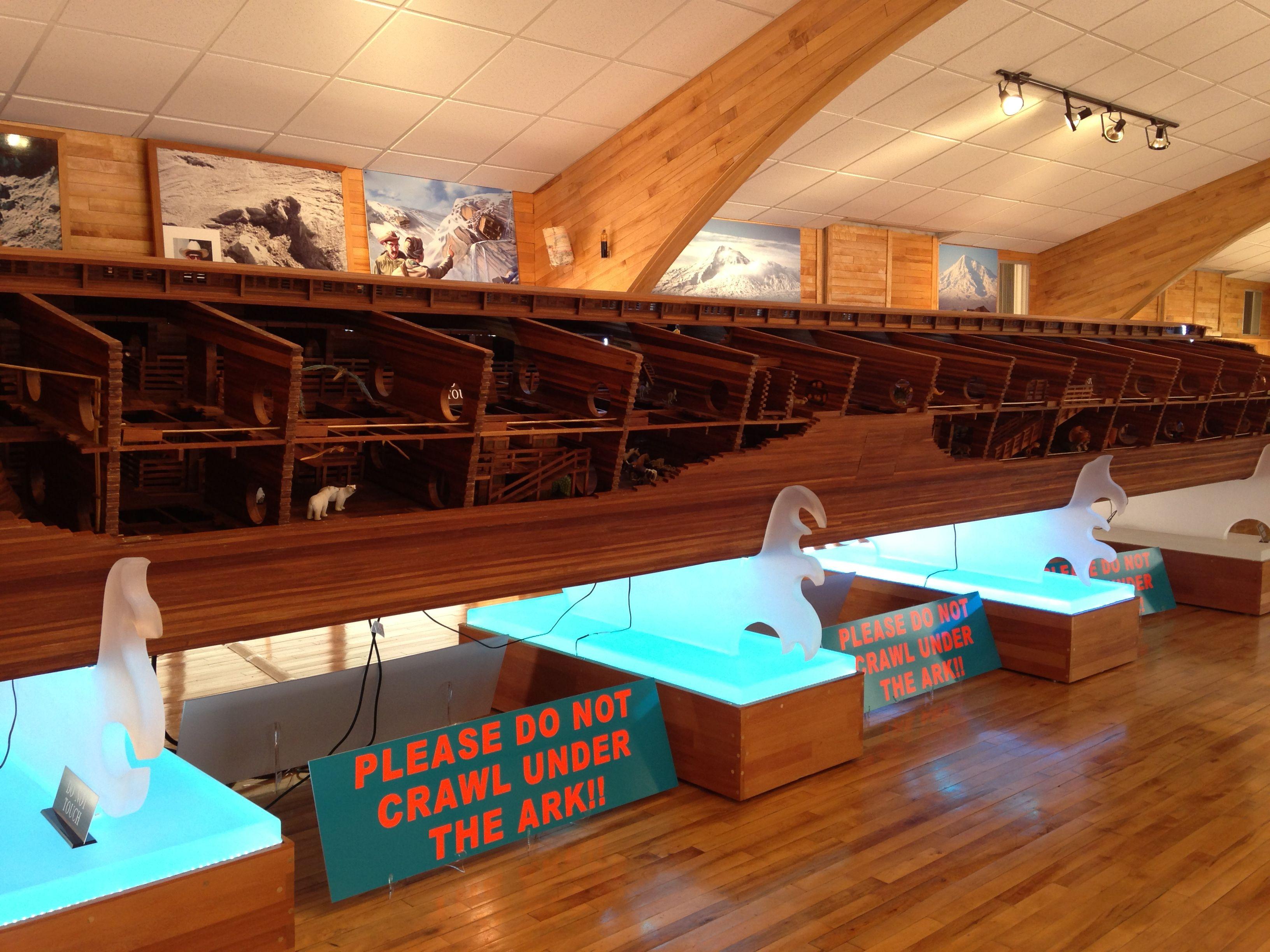 Noah S Ark Replica At The Creation Museum In Glen Rose Texas