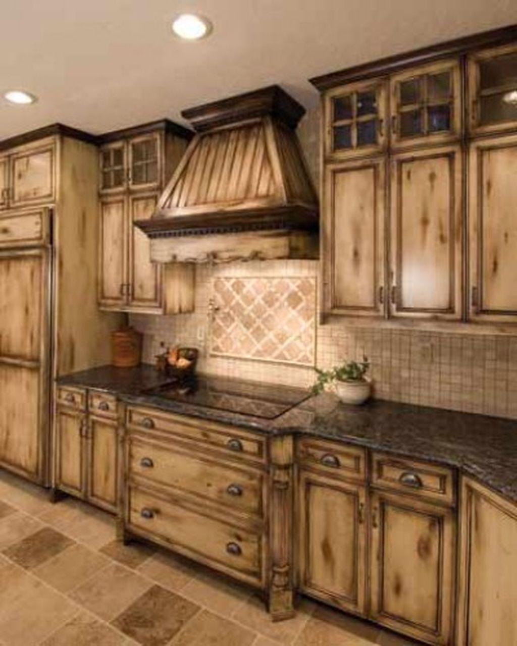 Antique White Kitchen Cabinets After Glazing Kitchen Pinterest