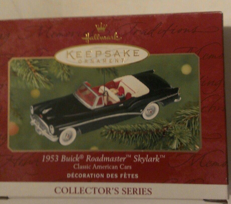 1953 Buick Roadmaster Skylark Convertible, Classic American Cars Series Hallmark Ornament - I have this one.