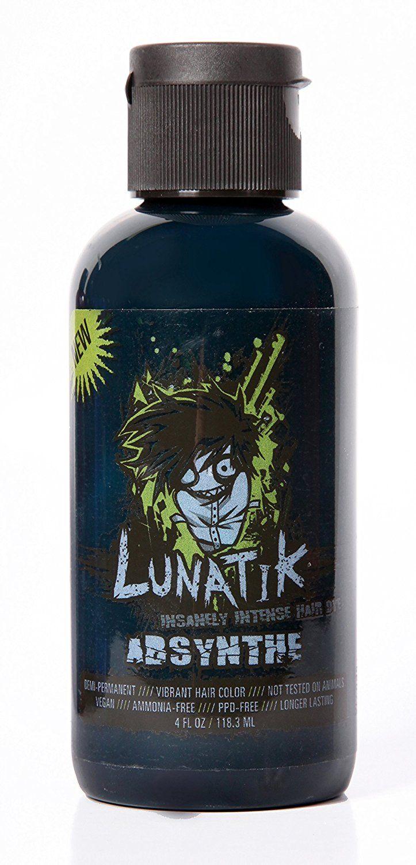 Lunatik Hair Dye (Absinthe green) This is an Amazon