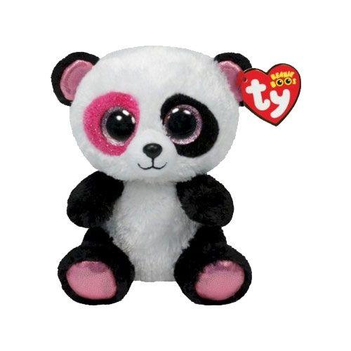 Ty Beanie Boos Penny The Panda Glitter Eyes Regular Size 6