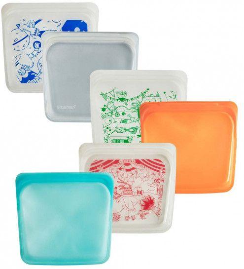 Stasher Platinum Silicone Reusable Sandwich Bag | Reusable