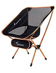 Chaise Camping Pliante Compact Portable Ultra-Léger Pliant Backpacking chaises dans