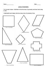 english worksheet lines of symmetry projects to try pinterest worksheets english and math. Black Bedroom Furniture Sets. Home Design Ideas