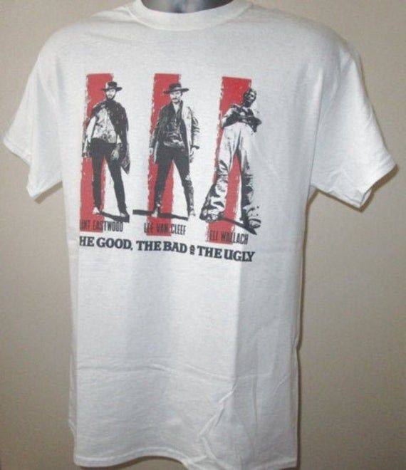 The Good The Bad And The Ugly T Shirt - Classic 60s Western Epic Movie Apparel Graphic Tee Men & Women 101 #epicmovie
