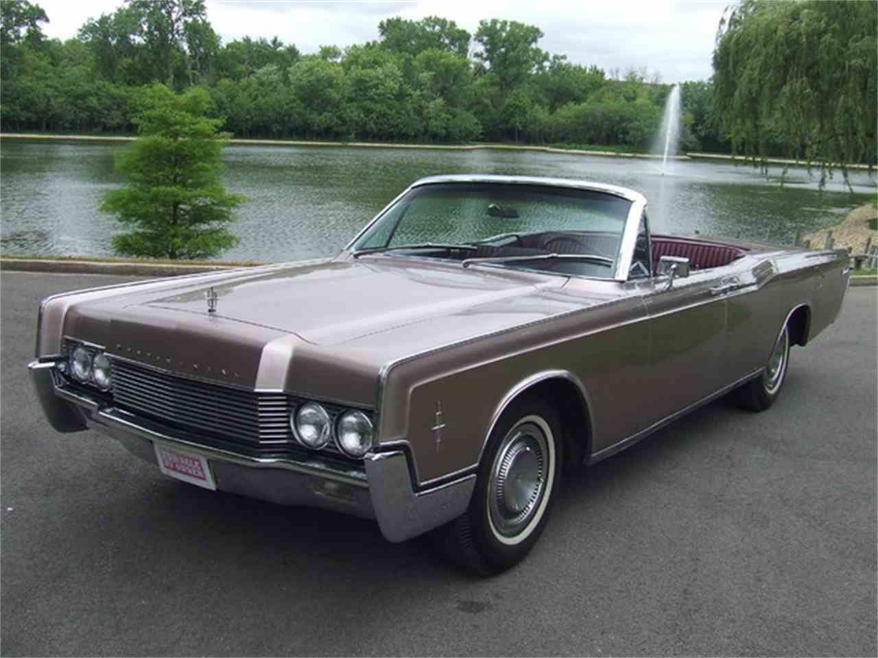 1966 Lincoln Continental convertible | Lincoln 1961-69 | Pinterest ...