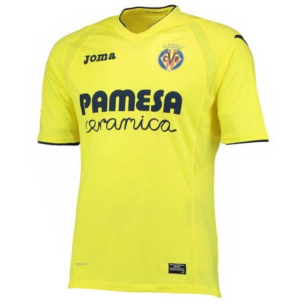 Tailandia Camiseta Villarreal Primera 2016 17  d8b9bd82d214f