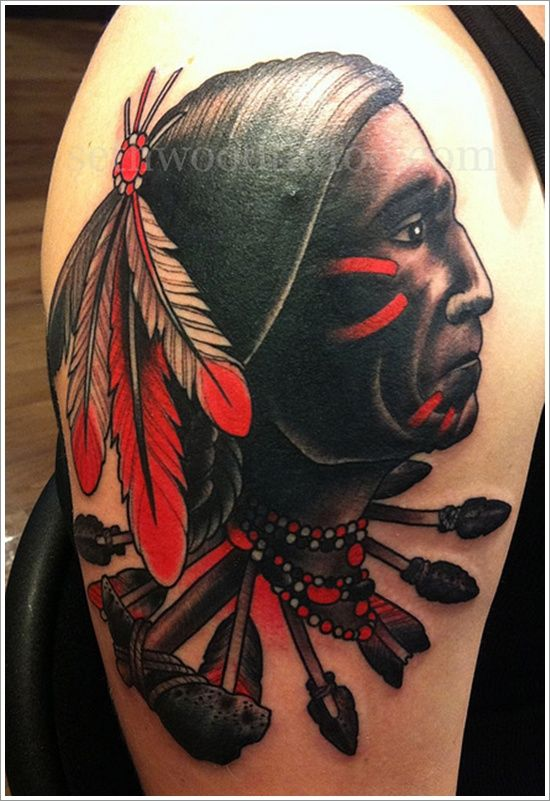40 Native American Tattoo Designs that make you proud ...