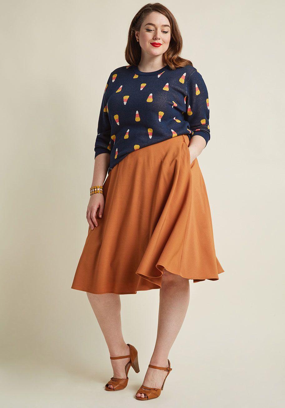 3b644d9c081 Just This Sway Midi Skirt in Turmeric