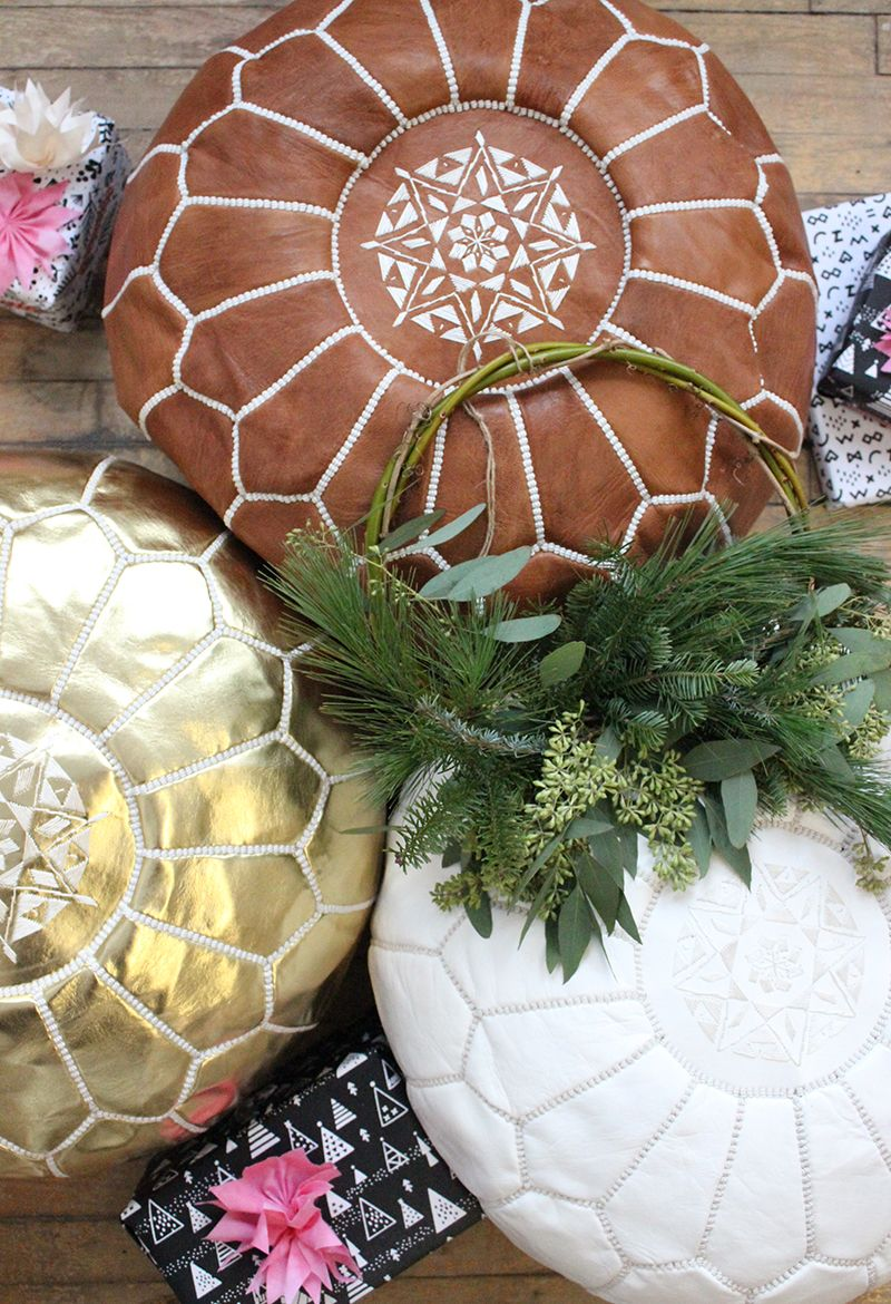 Holiday special, our Moroccan poufs are on sale! - Baba Souk