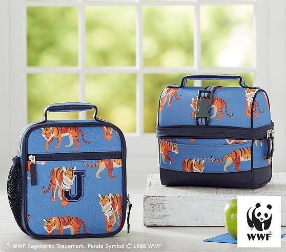 Mackenzie Blue Tiger Lunch Bag  15457f6ec972a