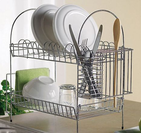 Double Stacked Dish Rack