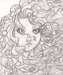 Cacheadas Desenho Tumblr Cabelo Desenho Desenhos De Cabelos