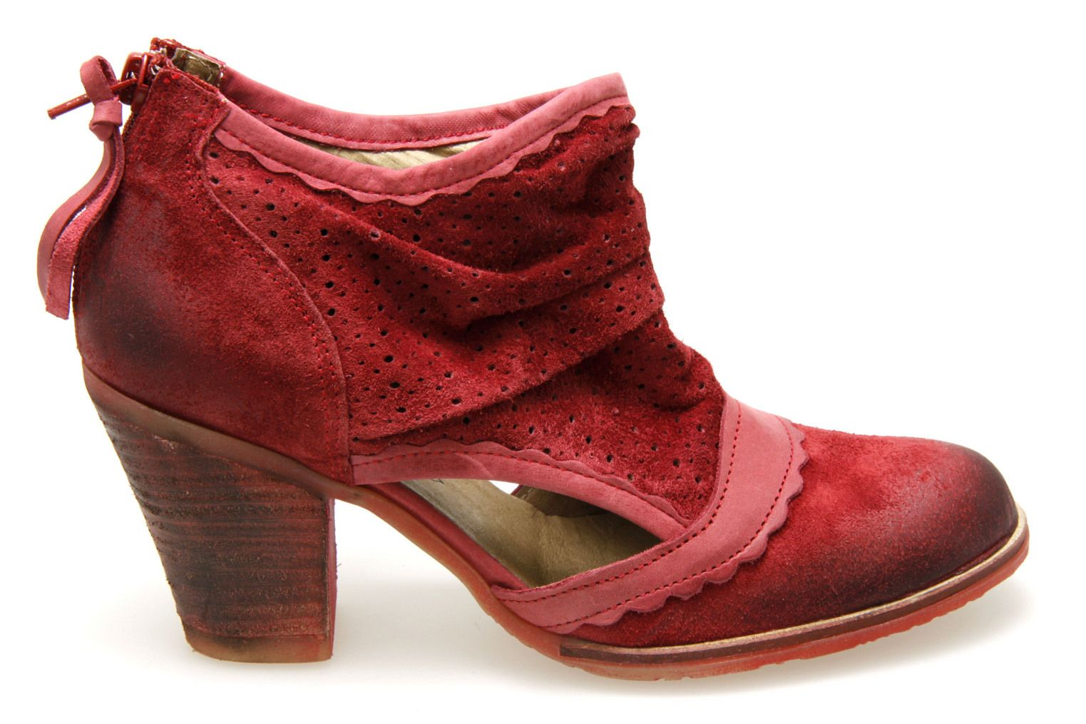 Chaussures Dkode rouges Casual femme wpvlUj