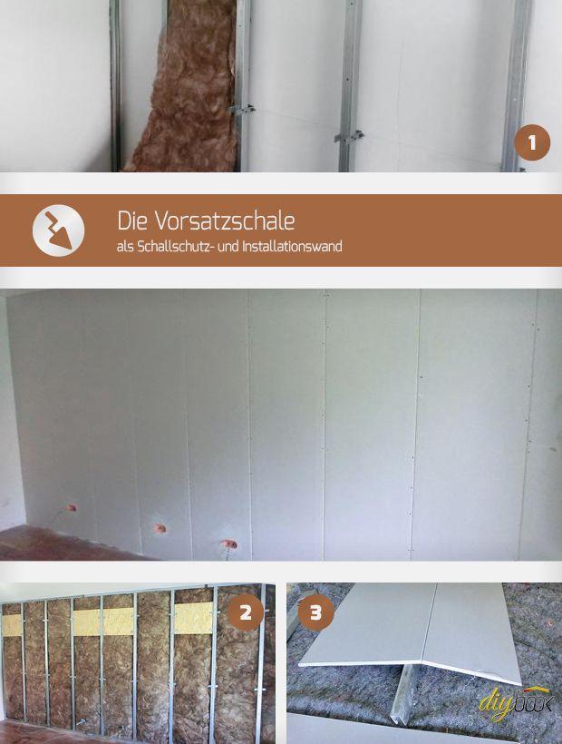 Vorsatzschale Bauen Bauen Pinterest