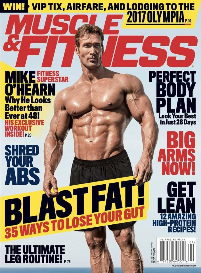 ebd82bc806f Muscle   Fitness  Print + Kindle  Weider Publications