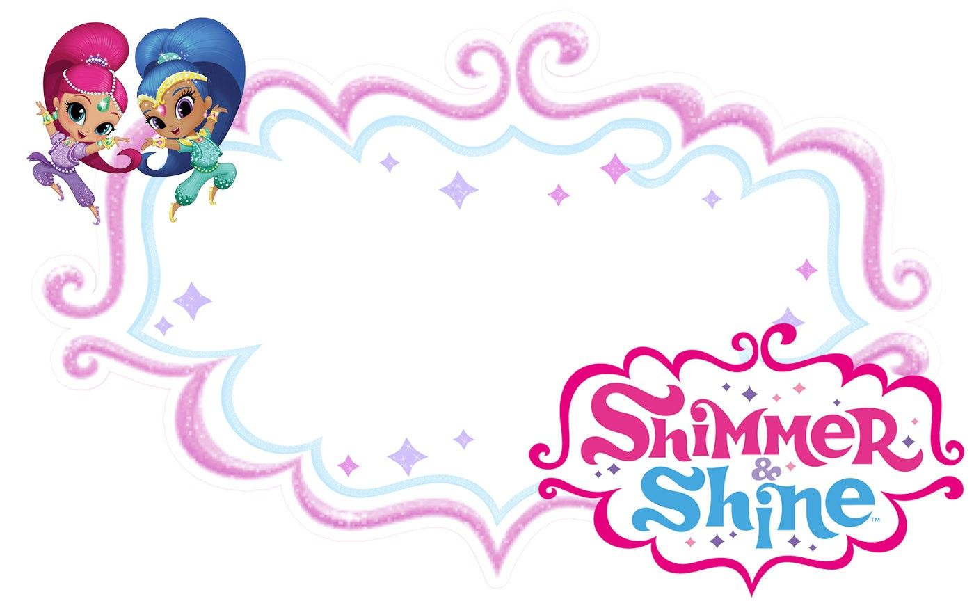 Free Printable Shimmer And Shine Invitation Shimmer N Shine Shimmer And Shine Cake Shimmer And Shine Decorations