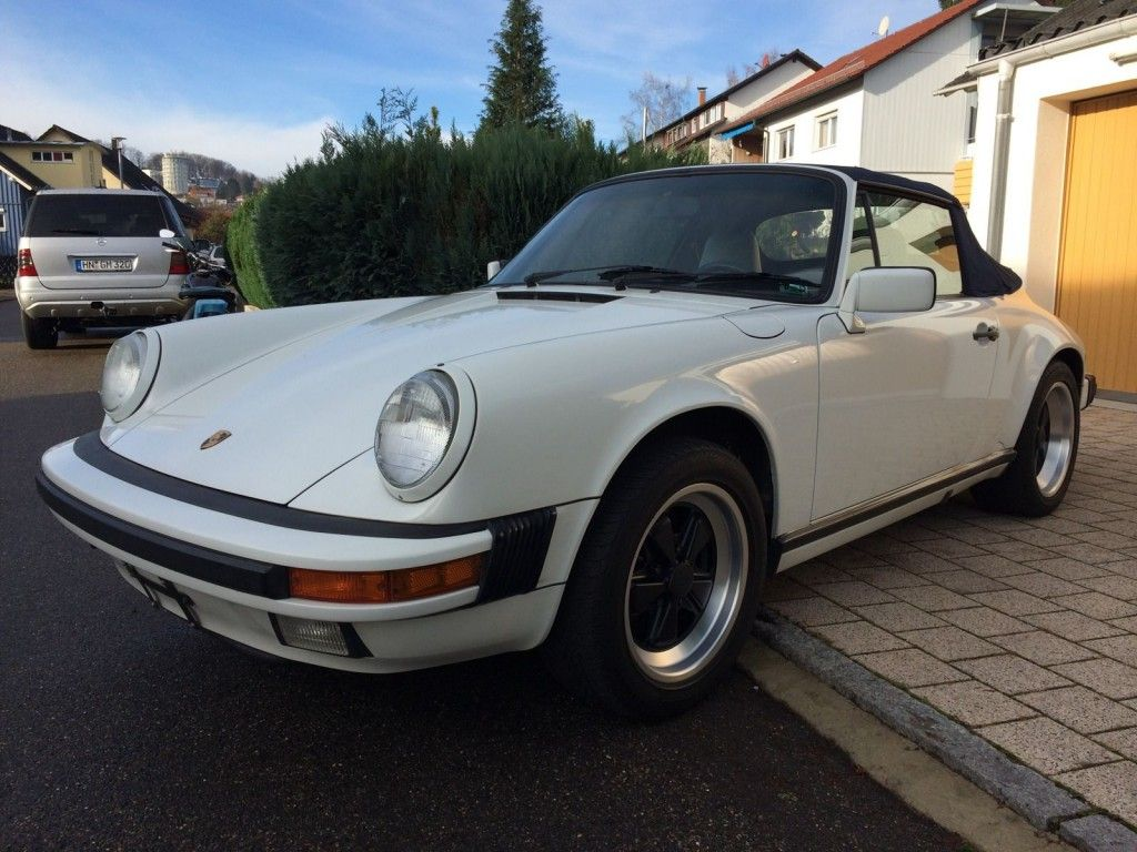 1988 Porsche 911 Cabrio G50
