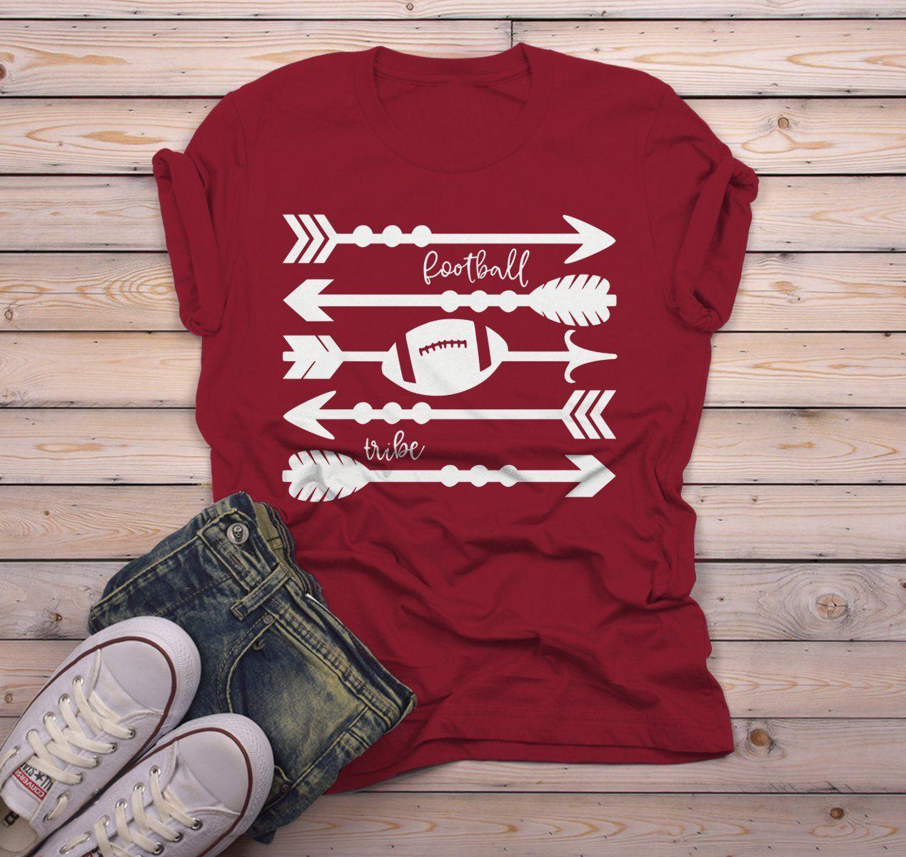 Men's Football Tribe T Shirt Arrows Football Tshir