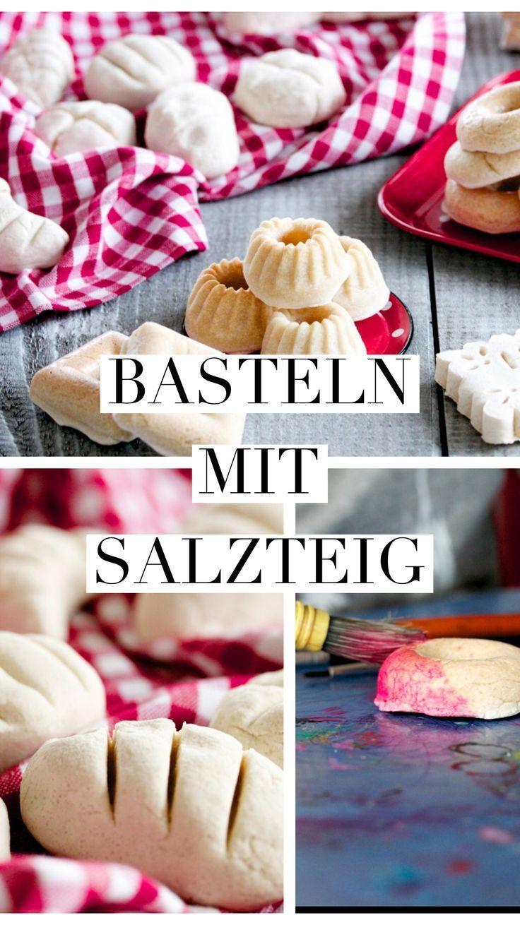Basteln mit Salzteig - Ein grosser Spass für Kinder