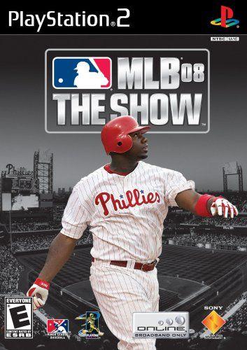 Mlb 08 The Show Playstation 2 In 2020 Mlb Baseball Playstation