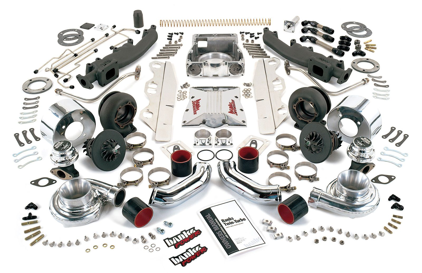 Banks Power | >>Twin-Turbo System | Fabrication | Pinterest | Twin ...