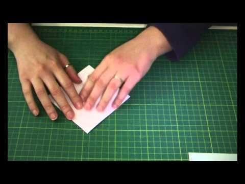 Card Maschile Con Cravattino in Origami