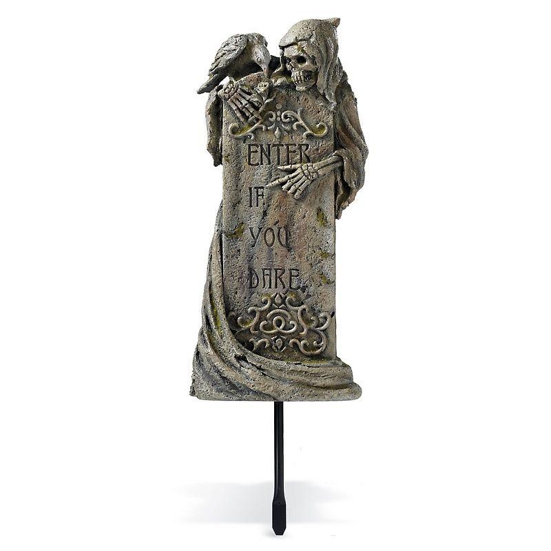 GRAVESTONE inspiration  source Grandin Road enter if you dare gravestone   largerGRAVESTONE inspiration  source Grandin Road enter if you dare  . Martha Stewart Halloween Costumes Grandin Road. Home Design Ideas